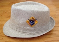 Fedora Hat with Emblem of the Order