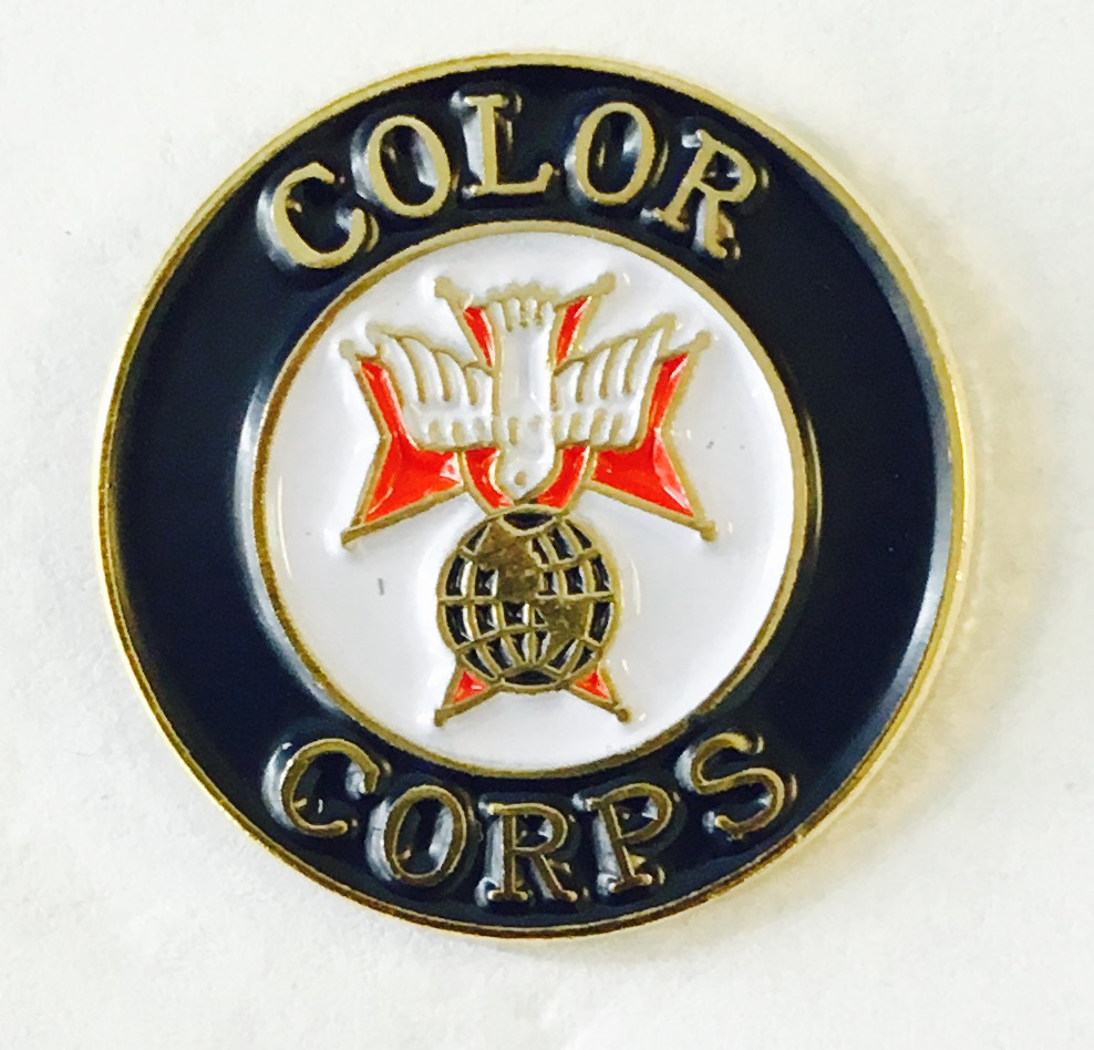 No. 133/K - 4th Degree Color Corps (5/8'')