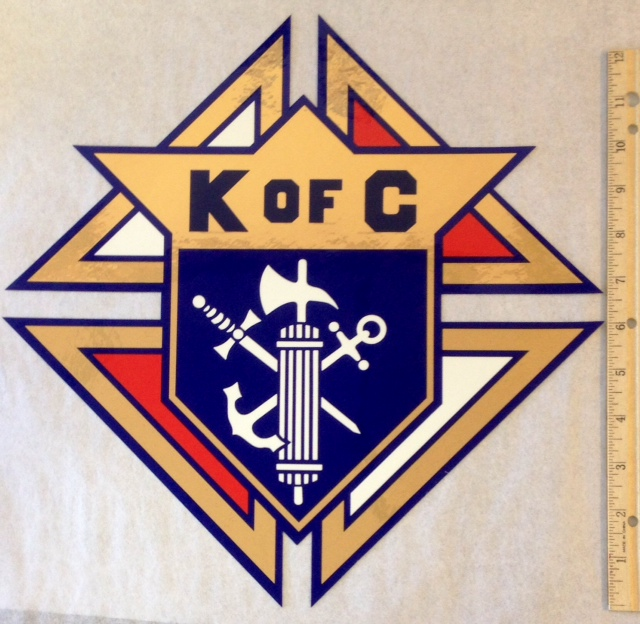 No. 212-13 - Emblem of the Order Decal