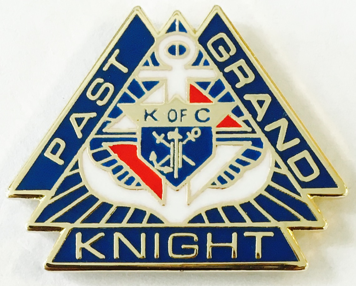 "No. 140 - Past Grand Knight (7/8"")"
