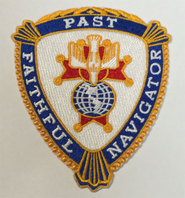 No. 1890-PFN - Specialty Designed Embroidered Emblem