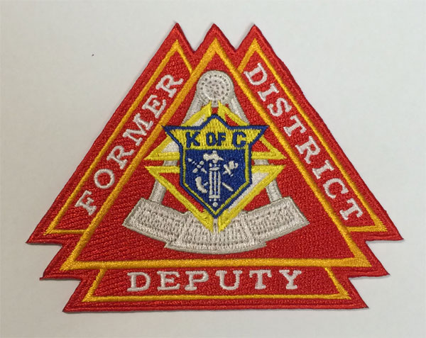 No. 1900-FDD - Specialty Designed Embroidered Emblem