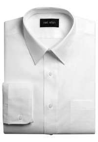 White Dress Shirt for New Uniform