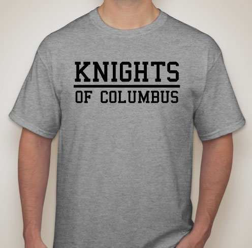 No 413 T Shirt Knights Of Columbus Fraternal Supplies