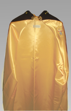 No. 4AGO - Gold Lined Cape