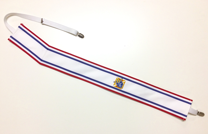 Social Baldric with Elastic Fasteners