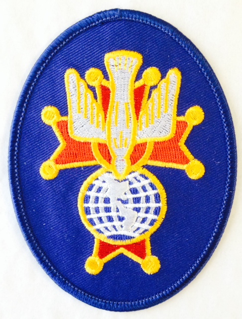 4th Degree Embroidered Oval Emblem