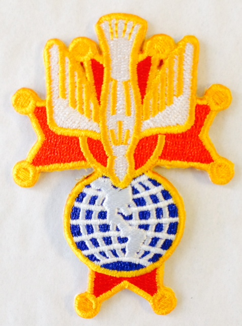 No. 4R - 4th Degree Embroidered Emblems