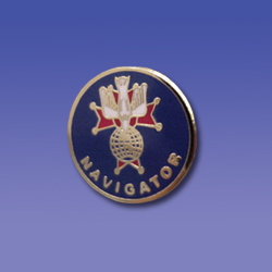 "Set of 4th Degree Officers Pins (1/2"")"