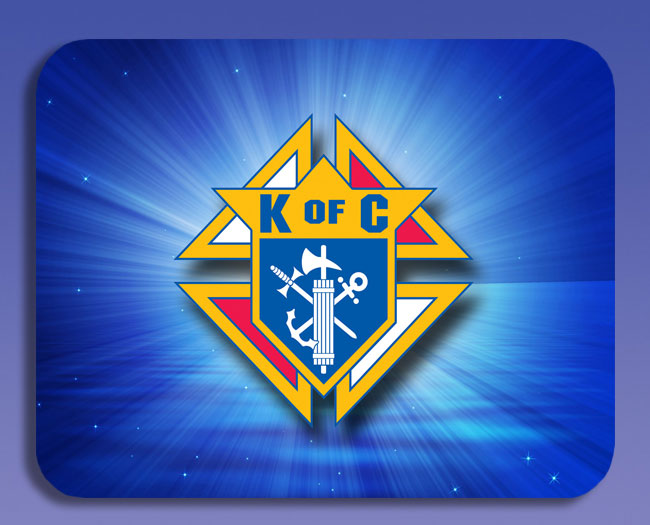 No. 5045 - KofC Mouse Pad