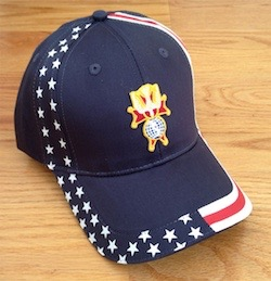 No. 585-NAVY - *NEW! 4th Degree U.S.A. Cap