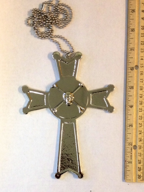 No. C6 - Ceremonial Jewel - Large Isabella Cross with Chain