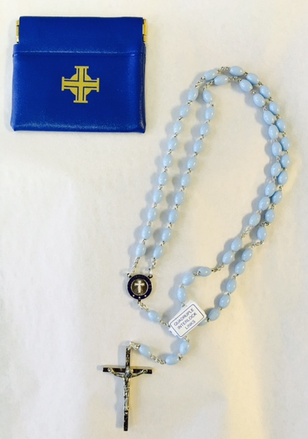 No. 675C - Ladies Columbiette Rosary with Case