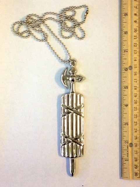 No. C7 - Ceremonial Jewel - Large Fasces with Chain