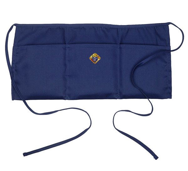 No. 801401NAVY - K of C Waist Aprons