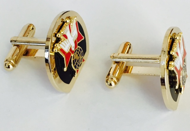 4th degree Cufflinks