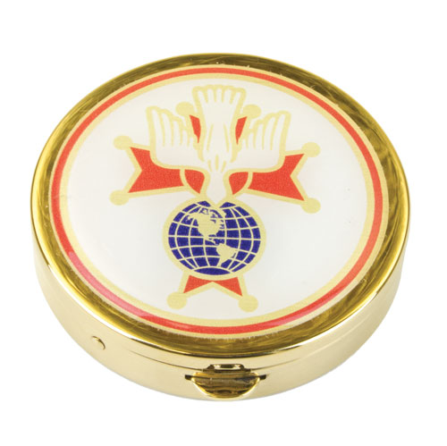 Pyx with KofC emblem or 4th degree