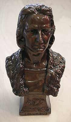 Bust of Columbus- 15''