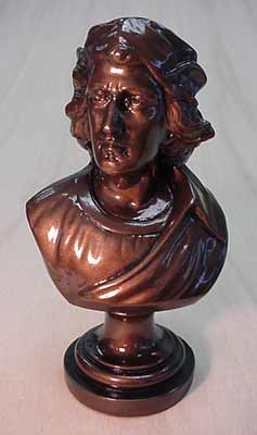 Bust of Columbus- 10''