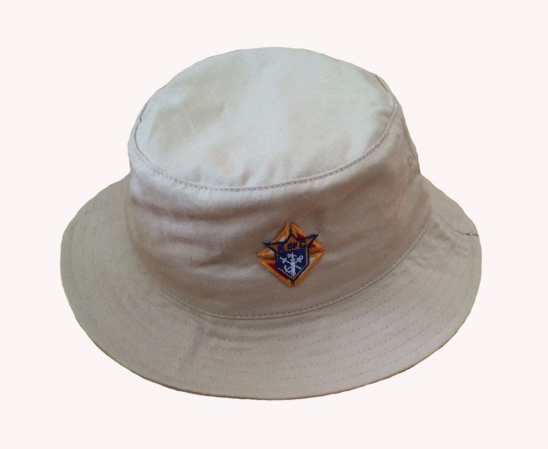 No. BX003 - KofC Cotton Twill Bucket Hat