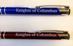 No. LP-802 - KofC Laser Engraved Pen ( Personalize your own)