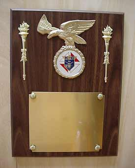 No. P-9J - Eagle Plaque
