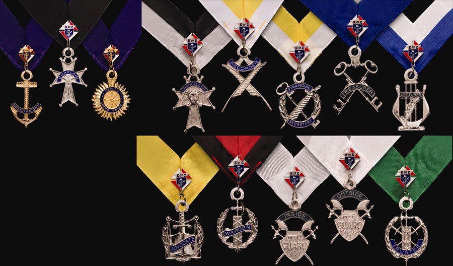 No. PG-130 - Complete Set of Council Jewels