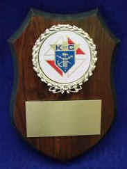 Small Shield Plaque