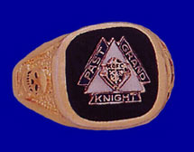No. R481PGK - PAST GRAND KNIGHT RING with Onyx Stone