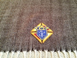 No. S004 - KofC Herringbone Plaid Scarf
