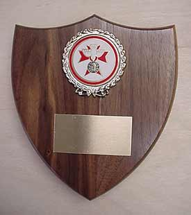 The Original K of C Sword Holder - Plaque only