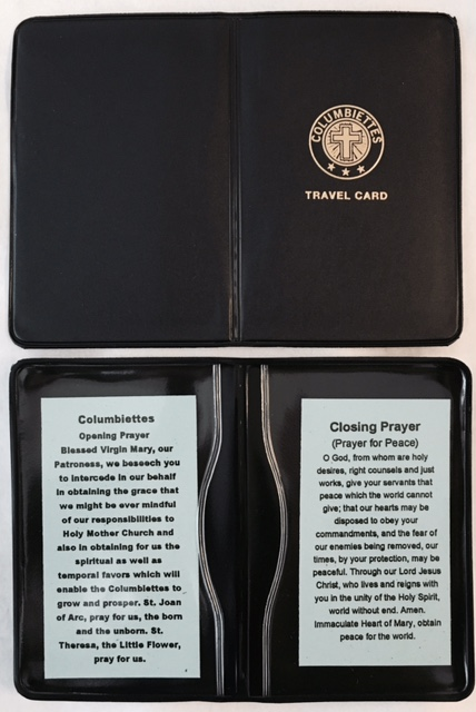 No. 6430 - Ladies Traveling Card Case