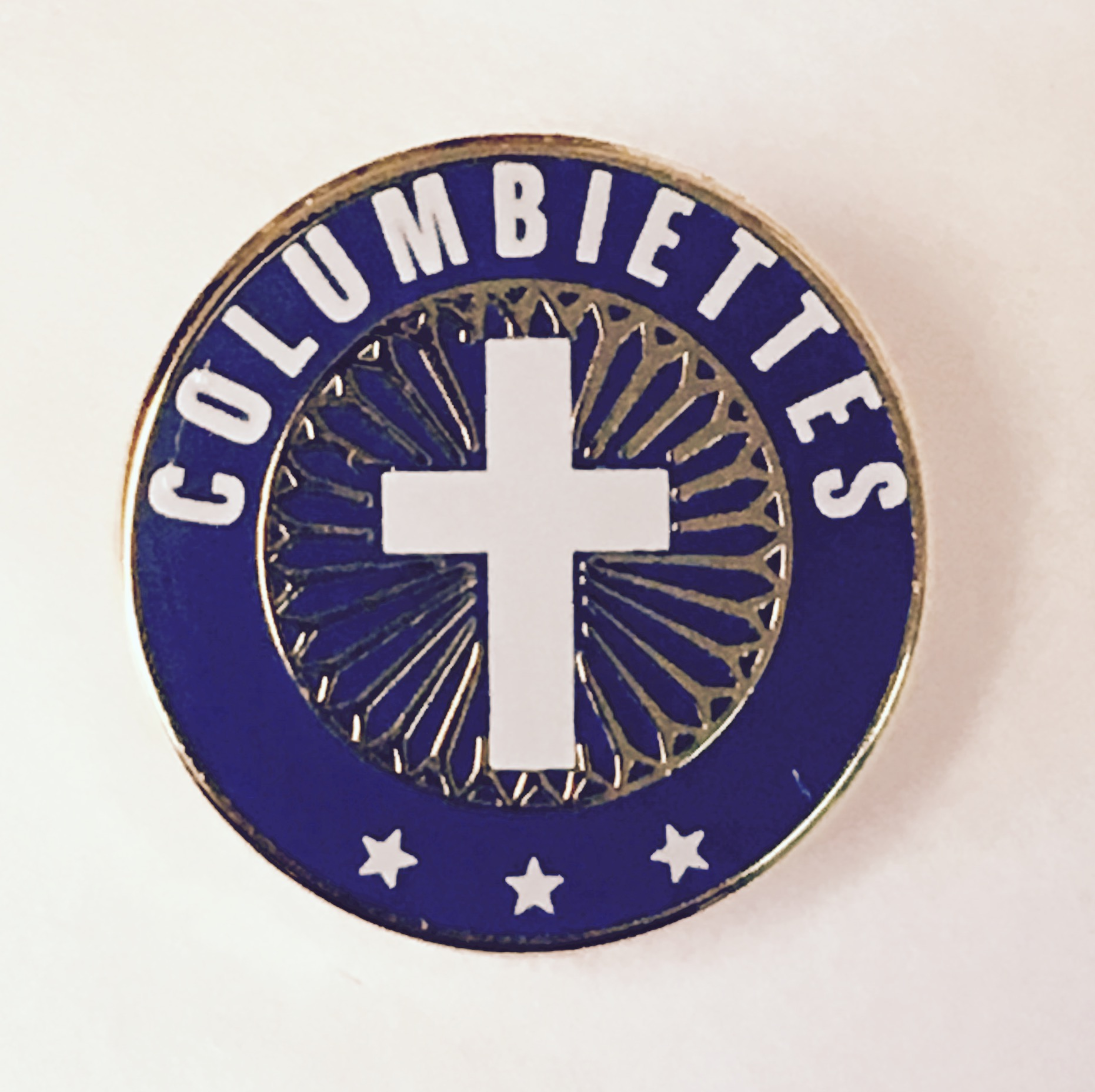 No. 6423 - Columbiettes Membership Lapel Pin