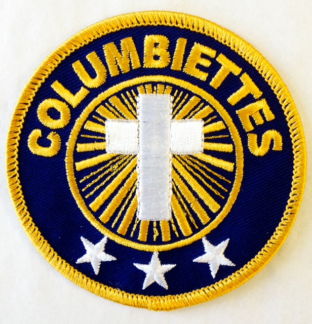 No. 6427 - Ladies Columbiette Embroidered Emblem