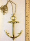 No. C4 - Ceremonial Jewel - Anchor with Chain