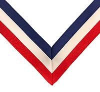 Replacement Ribbons for 4th Degree Officers Jewel