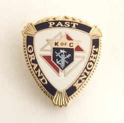 No. 122PGK - Past Grand Knight (7/8'')