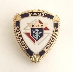 Past Grand Knight (7/8'')