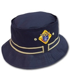 17065 - KofC Cotton Twill Outdoorsman Hats