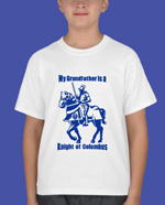 "No. 2011GF - My ""GRANDFATHER"" is a Knight of Columbus T-shirt"