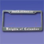No. 202 - License/Tag Plate Holder: