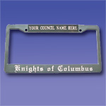 203 - License/Tag Plate Holder: Council or Assembly