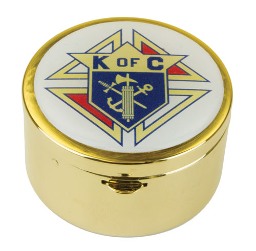2240G - Pyx with KofC emblem or 4th degree