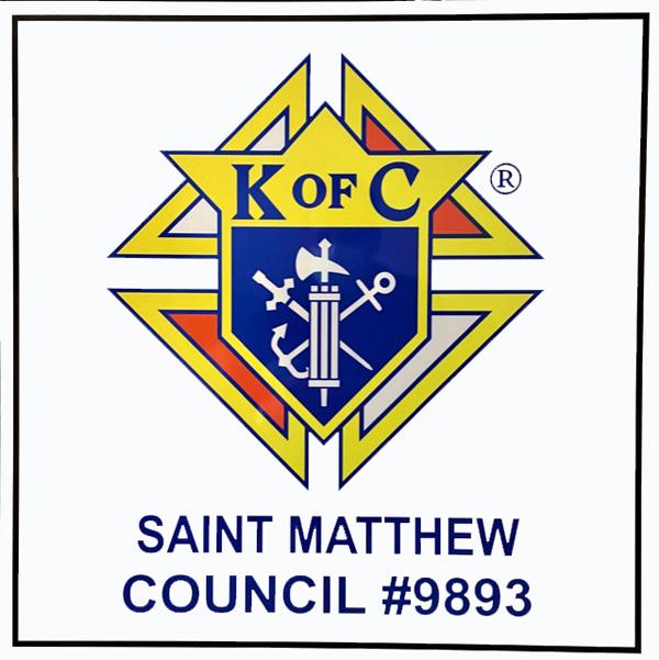 Custom Reflective K of C Road Sign