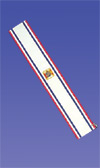 No. 4D - Social Baldric with Safety Pin