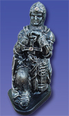 No. 4055 - Kneeling Knight Statue
