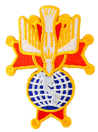 4R - 4th Degree Embroidered Emblems