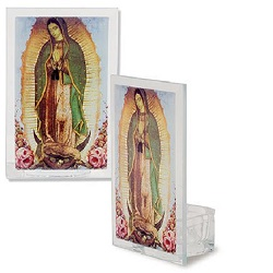 Votive Holder Our Lady Guadalupe