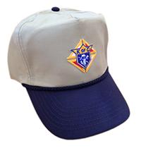 Navy/Khaki Golf Cap