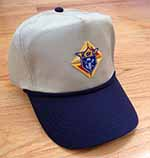 Navy/Khaki Golf Cap